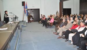 Vítanie hostí na matičnom zhromaždení v Petrovci