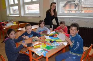 Anna Kukučková so svojimi žiakmi
