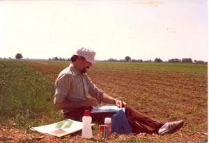 Spätosť s krásou prírody: Ivan Križan v petrovskom chotári roku 1979