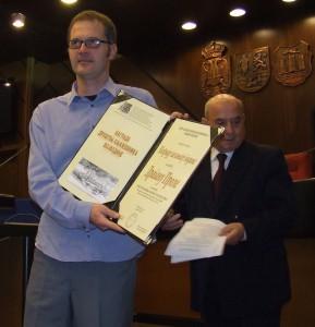 Dragan Prole je laureátom Ceny za knihu roka