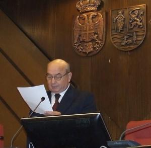 Príhovor staronového predsedu SSV Nikolu Strajnića