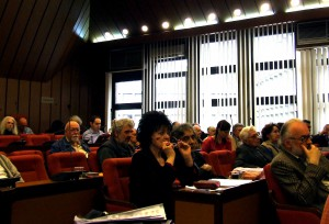 Členovia SSV na volebnom zhromaždení