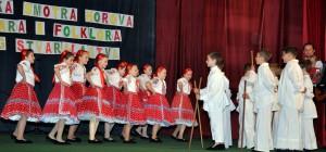 Mladí folkloristi z Kovačice boli úspešní aj v prednese na nástrojoch, aj v speve a tanci