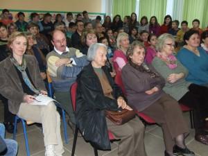 Z pondelkovej verejnej rozpravy: prvé tri učiteľky zľava sú penzistky Alžbeta Pucovská, Katarína Kopčoková a Zdenka Mitićová