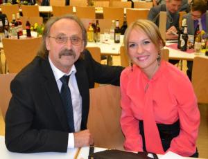 Predseda a predsedníčka Martin Válovec a Katarína Mosnáková v Gomaringene