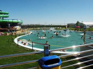 Uvoľnenie v relaxačnom bazéne