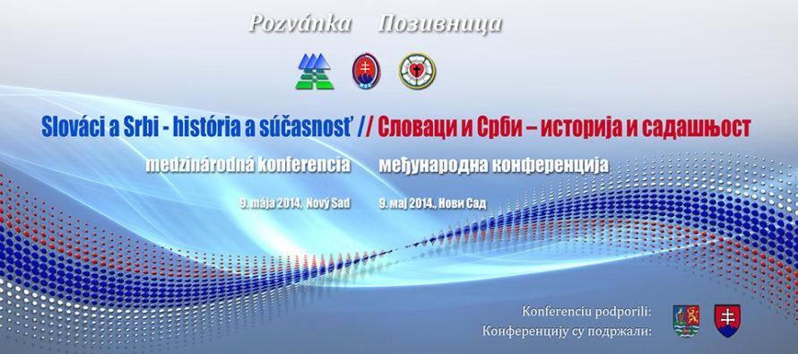 Slováci a Srbi – história a súčasnosť