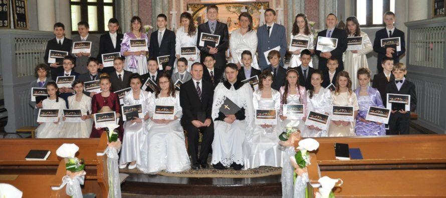 Konfirmácia v Petrovci