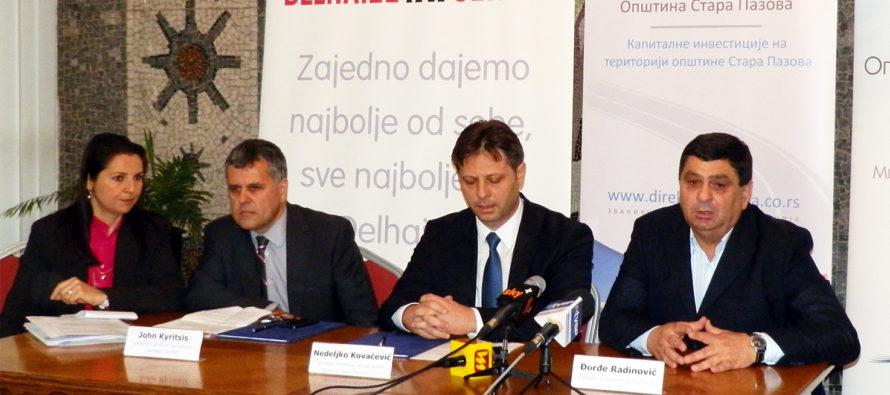 Delhaize financuje infraštruktúrne práce