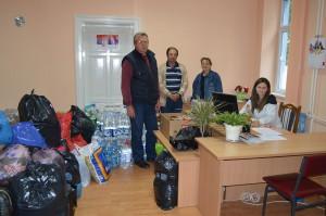 Aktivisti Štefan Tomšík, Fero Jocha, Maria Častvanová a Anna Pecníková  (foto: Juraj Béredi)