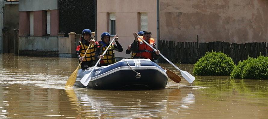 ZÁPLAVY V SRBSKU: Evakuácia vo Višnjićeve a Morovići