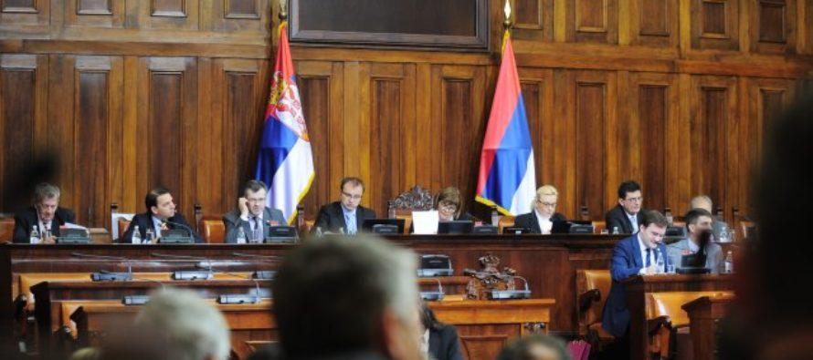 Zhromaždenie o zákone o menšinách