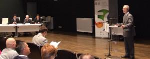 Z otvorenia konferencie: účastníkov privítal rektor prof. Dr. Miroslav Vesković