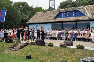 Otvárací ceremoniál 44. Folklórneho festivalu Tancuj, tancuj...