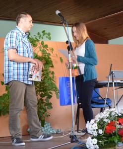 Cenu Rozletov za výtvarné práce Kristíne Srnkovej udelil Michal Ďurovka