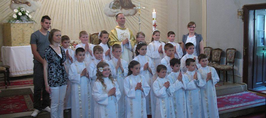 SELENČA: Slávnosť Prvého svätého prijímania