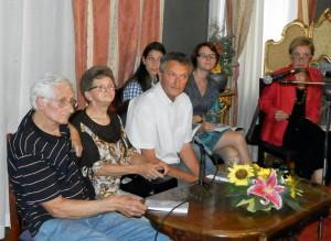 Naprácu v Rádiu Kulpín si zaspomínali: (zľava) Stanko Gostović, Anna Peťkovská aPavel Peťkovský