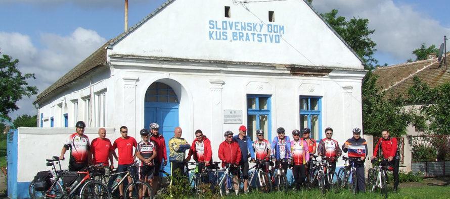 Na bicykloch za Slovákmi v Banáte