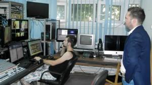 Záber z návštevy v réžii TV OK (Snímka: A. Chalupová)