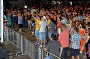 Návšteva koncertov v Selenči bola hojná