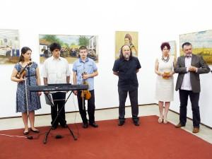 Výstavu otvorila predsedníčka NRSNM Anna Tomanová-Makanová