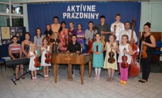 Galakoncert mladých hudobníkov
