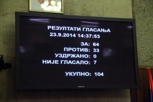 Deklaráciu podporilo 64 poslancov