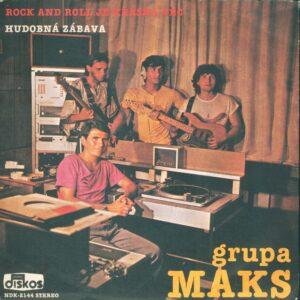 Prvú singel play platňu nahrali: (zľava) Miroslav Pavlović, Dževad Ramić, Ján Dobrík a Vladimír Kováč (foto: z archívu skupiny)