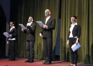 Záber zo slávnostného otvorenia 45. Divadelného vavrínu (foto: A. Chalupová)
