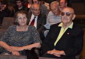 S manželkou Ružicou počas slávnostnej akadémie v Štúdiu M