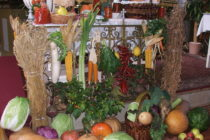 Poďakovanie za úrodu v kostole v Kysáči