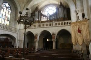 Interiér kostola (foto: Ľ. Pomichal)