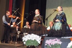 V duete Ľudmila Ragová a Anna Berédiová zo Selenče Sára Valentíková z Pivnice