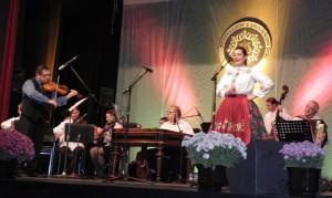 Tatiana Jašková z Kovačice, ktorá predstavuje novosadský Šafárik