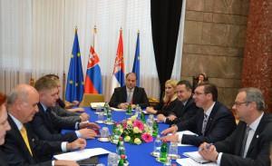O nadštandardných slovensko-srbských vzťahoch: premiéri Fico a Vučić