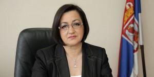 Ministerka poľnohospodárstva Snežana Bogosavljevićová-Boškovićová (foto: www.rtv.rs)
