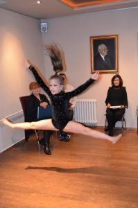 Niekto má talent pre písanie aEma Stupavská má určite pre džez balet