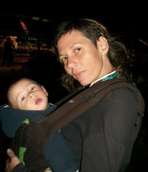 Radmila poznanovićová dominquez s mladším synom (foto: archív r