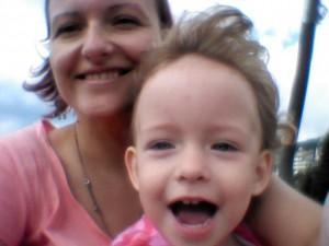 Anna Jašková s dcérkou (foto: archív A.J.)
