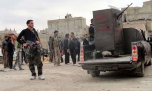 Sýriu už tri roky ničí občianska vojna (Foto: theguardian.com)