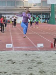 Ivana Španovićová v skúšobnom skoku