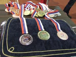 Medaily pre najlepších