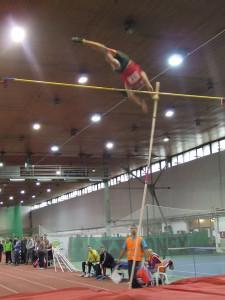 Strieborný skok o žrdi: Michail Dudáš na výške 4,60 m