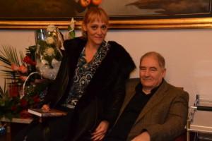 S manželkou Luciou