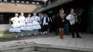 Kslávnostnej náplni podujatia prispeli členovia KUS Slnečnica z Padiny