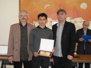 Osobitné uznanie: stredoškolský majster Srbska v najdlhšom šprinte – Damián Šuľa z Kovačice