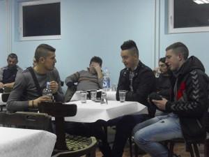 Na konferencii sa zúčastnila aj skupina terajších futbalistov