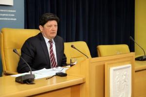 Pokrajinský tajomník Zoran Radoman