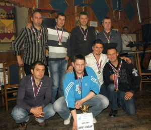 Víťazné mužstvo KMV Fagan