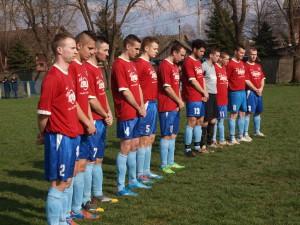 Mužstvo Tatry počas minútky ticha